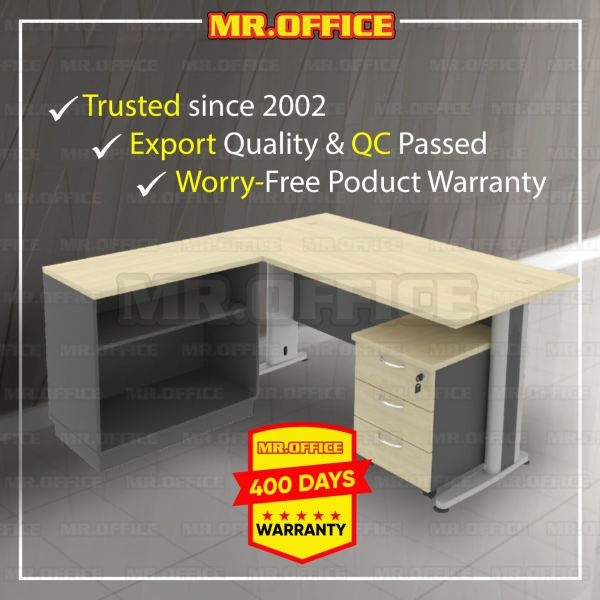 MR.OFFICE : COMBO-T04-188 1800W x 800D Rectangular Table Set With Open Shelf Low Cabinet And Mobile  Timeless Series OFFICE DESKS Malaysia, Selangor, Kuala Lumpur (KL), Shah Alam Supplier, Suppliers, Supply, Supplies | MR.OFFICE Malaysia