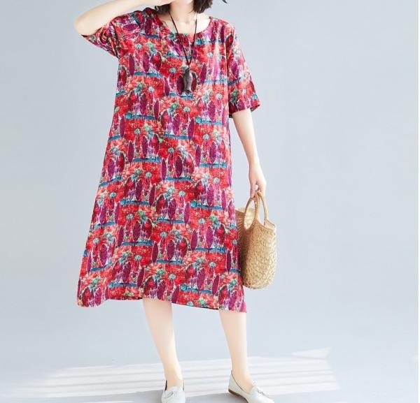 Korea Fashion Printed Flora Dress Korea Designer - Kim Sung-Hea Dress Malaysia, Selangor, Kuala Lumpur (KL), Petaling Jaya Clothing, Supplier, Supply, Supplies | Ninki J Enterprise