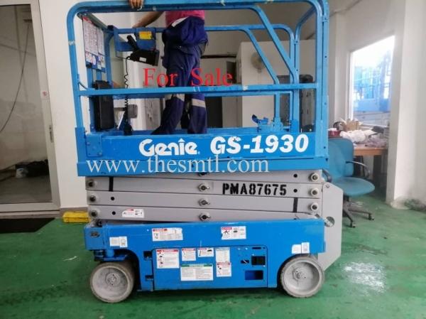 GENIE SCISSOR LIFT GS1930 Scissor Lift Sale Singapore, Malaysia, Johor, Pekan Nanas Supplier, Supply, Supplies, Rental | Schmetterling Rental Sdn Bhd