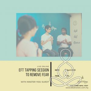 Live Online Guided EFT Tapping Session To Remove Fear