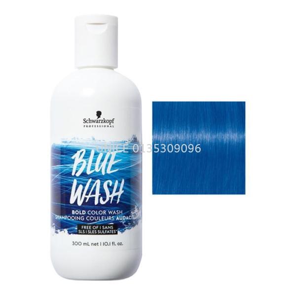 Schwarzkopf Blue Wash Bold Color Wash shampooing 300ml SCHWARZKOPF PROFESSIONAL HAIR SHAMPOO Johor Bahru JB Malaysia Supplier & Wholesaler   UNICE MARKETING SDN BHD