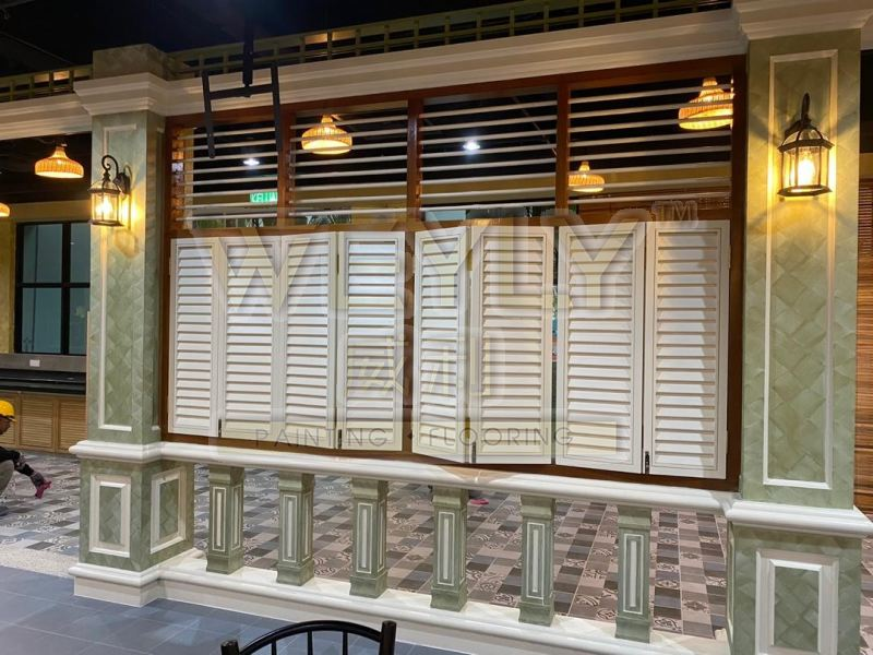 Nippon Momento Textured Coating Commercial Painting Works Penang, Malaysia, Bukit Mertajam Services   WEYLY SDN BHD