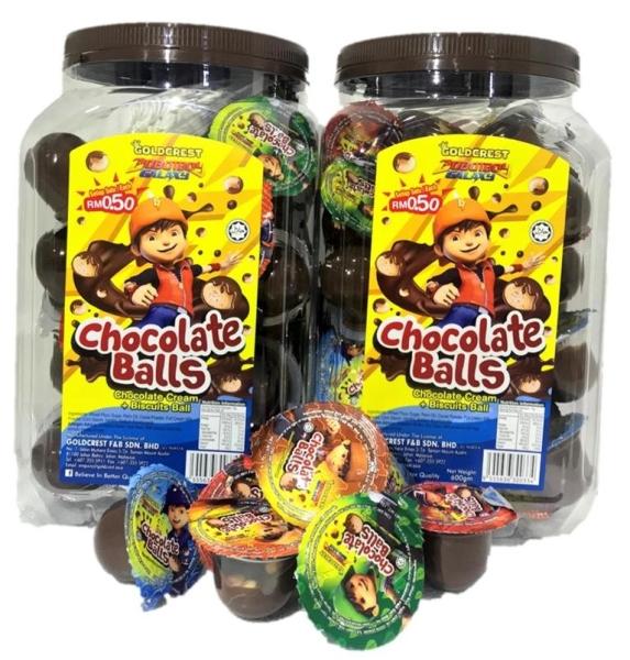 Choc Ball Chocolate / Candy Malaysia, Johor Bahru (JB), Selangor, Kuala Lumpur (KL) Supplier, Wholesaler, Supply, Supplies | GOLDCREST F&B SDN BHD