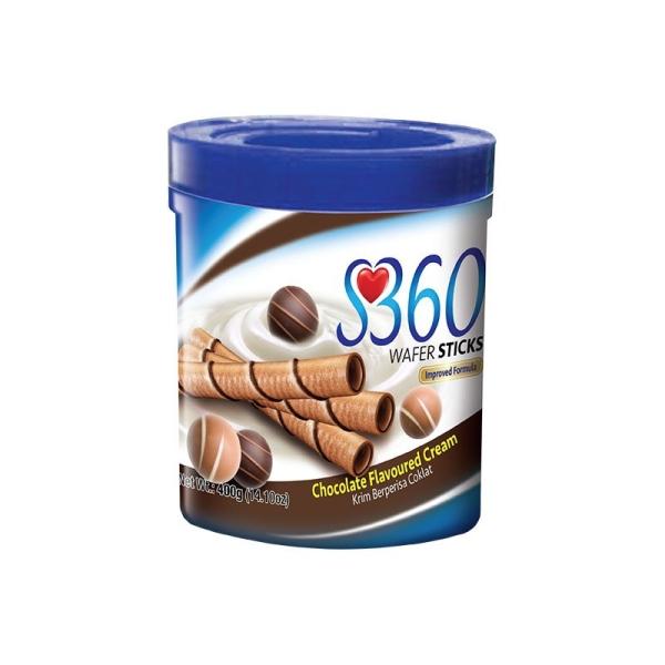 S360 Wafer Sticks Chocolate S360 Malaysia, Selangor, Kuala Lumpur, KL. Manufacturer, Suppliers, Supply, Supplier, Supplies   Huasin Food Industries Sdn Bhd