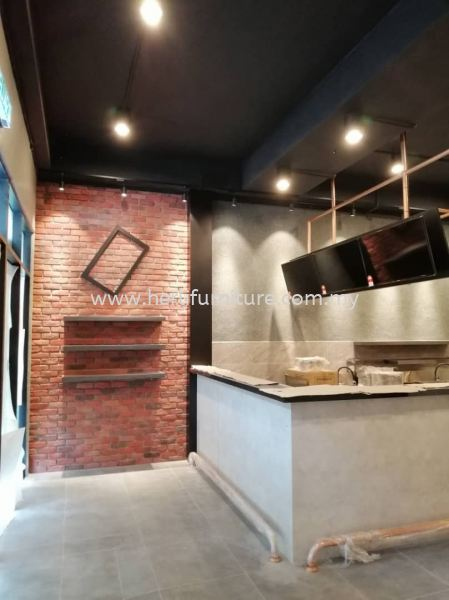 Display Feature Wall Commercial Design Johor Bahru (JB), Malaysia, Skudai Service, Supplier, Supply, Supplies | Her Li Furniture And Renovation (M) Sdn Bhd