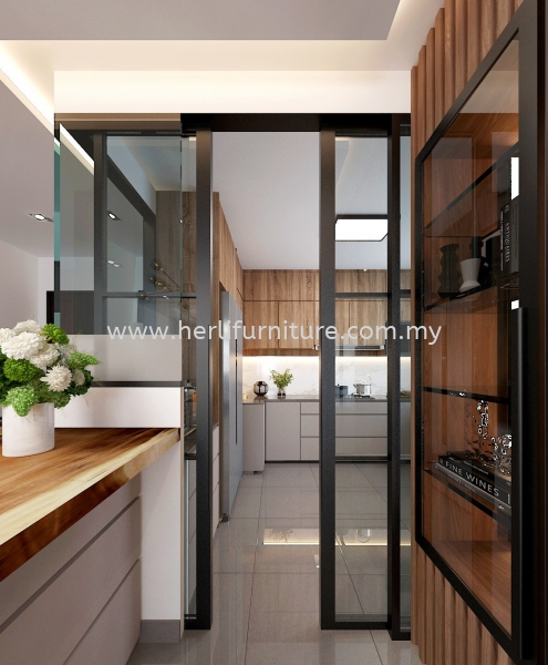 Kitchen Cabinet Design Residential Design Johor Bahru (JB), Malaysia, Skudai Service, Supplier, Supply, Supplies | Her Li Furniture And Renovation (M) Sdn Bhd
