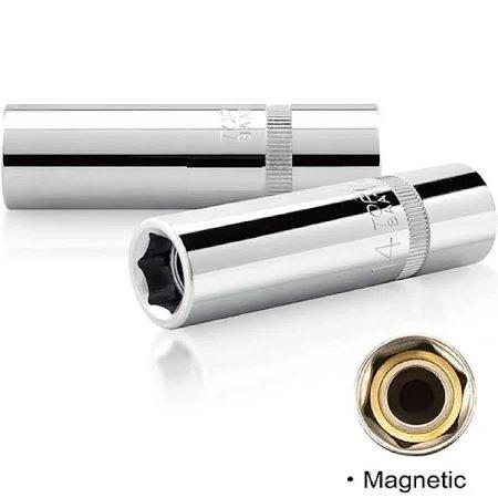 "Taiwan Magnectic Spark Plug Socket 1/2""DR x21x 67mm ID555925"