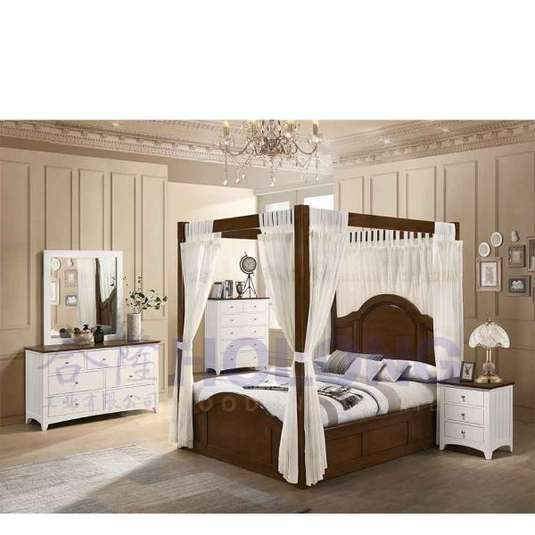 Bedroom Set HW18113 Bedroom Sets Johor, Malaysia, Yong Peng Manufacturer, Maker | Holong Wood Industries Sdn Bhd