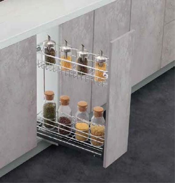 Multi function Two Layers Pull Out  Basket Premium High Quality Baskets Kitchen Storage and Fittings Kuala Lumpur (KL), Malaysia, Selangor, Damansara Supplier, Suppliers, Supply, Supplies | Sunmax Hardware Sdn Bhd