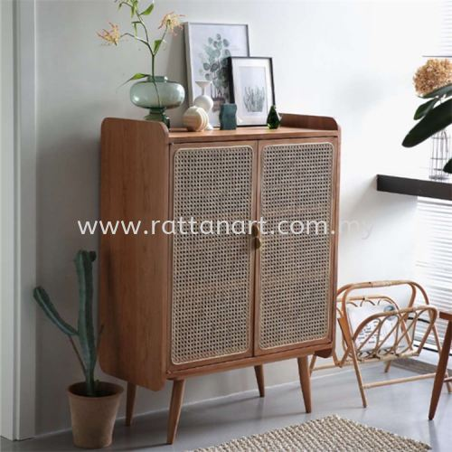 RATTAN SHOES CABINET JERRY