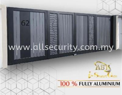 ALUMINIUM TRACKLESS FOLDING GATE