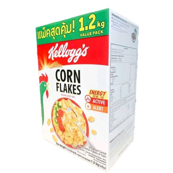 Kellogg's Cornflake 1.2kg  Cereal and Grains  Ingredients Johor Bahru (JB), Malaysia, Tebrau Supplier, Suppliers, Supply, Supplies | EBAKE ENTERPRISE