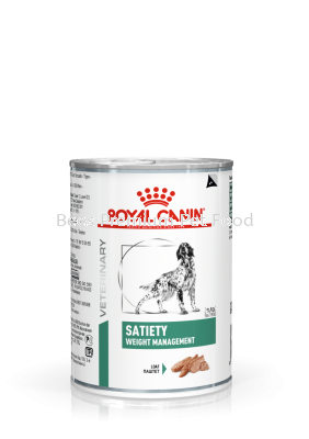 Royal Canin Satiety Weight Management Wet Dog Food 410gx12