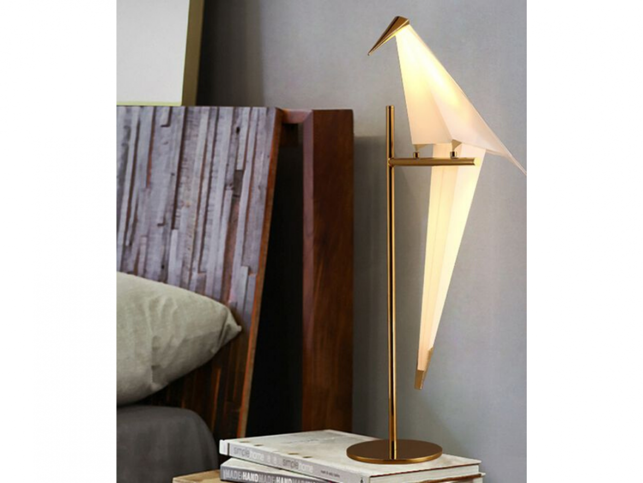 IP-ALF ARTISTIC LED FLOOR LAMP WITH GOLD FINISH