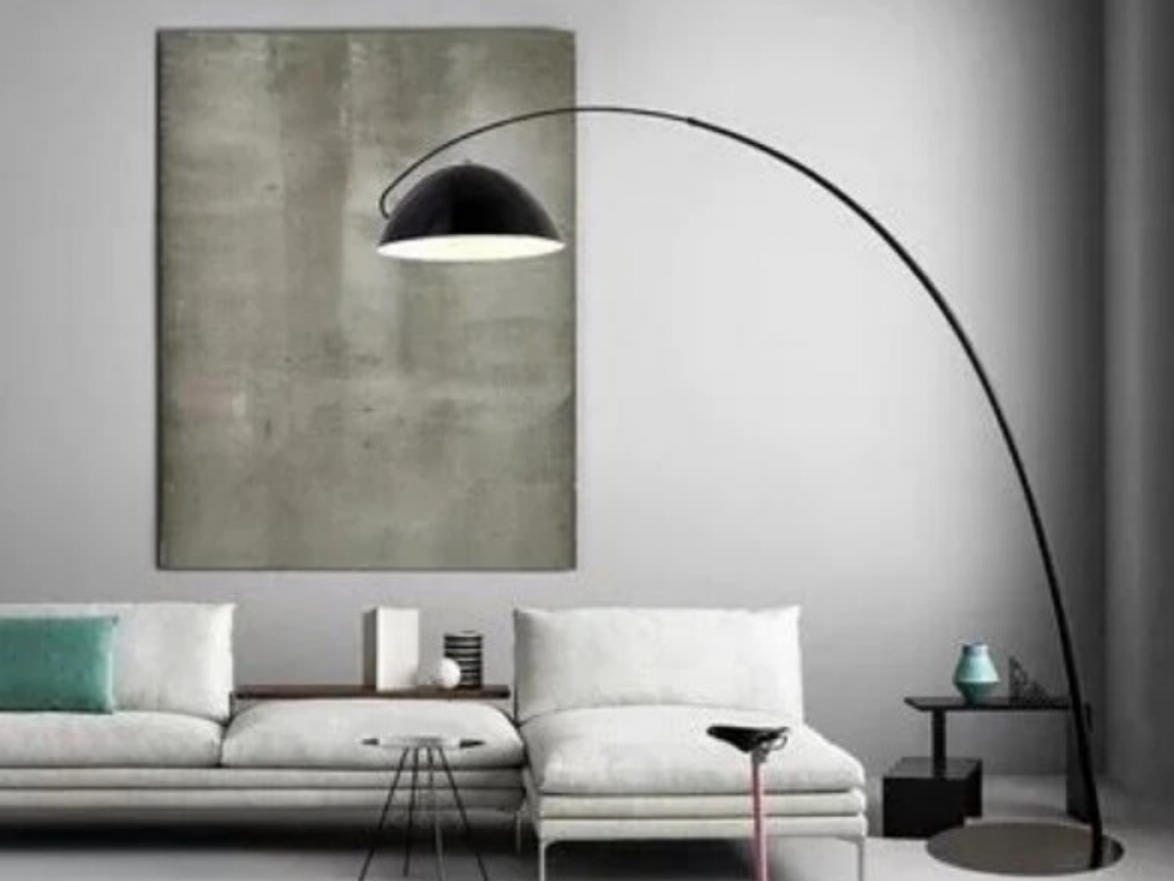 IP-BSF BLACK SUAVE FLOOR LAMP