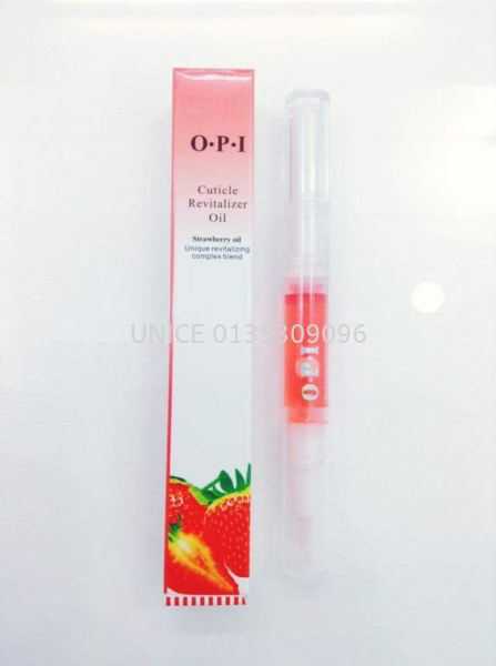 Cuticle Revitalizer Oil Strawberry 5ml OPI NAIL AND ACCESSORIES Johor Bahru JB Malaysia Supplier & Wholesaler | UNICE MARKETING SDN BHD