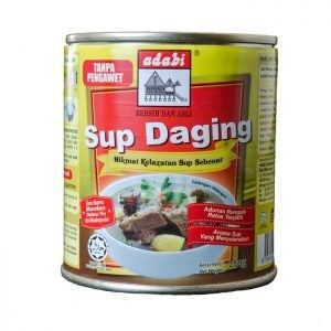 Adabi Beef Soup (280gm) Canned Noodles, Dry & Canned Goods  Selangor, Malaysia, Kuala Lumpur (KL), Puchong Supplier, Suppliers, Supply, Supplies | Hello Pasar Sdn Bhd