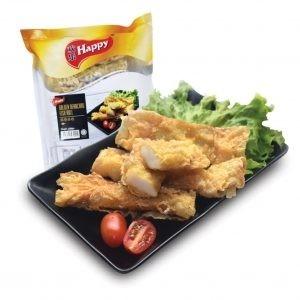 Happy Golden Beancurd Fish Roll (10 pcs x 25 gm) (250 gm) Yong Tau Fu & Dim Sum Selangor, Malaysia, Kuala Lumpur (KL), Petaling Jaya (PJ) Supplier, Suppliers, Supply, Supplies | Hello Pasar Sdn Bhd