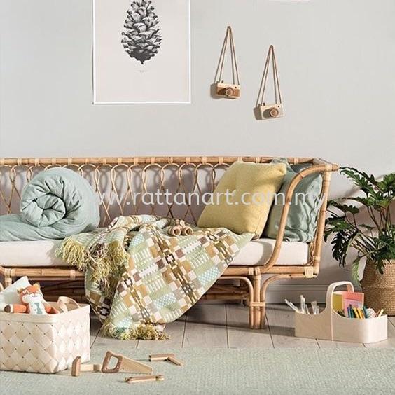 RATTAN DAY BED BOWL BED FRAME & BABY CRIB Kuala Lumpur (KL), Malaysia, Selangor, Melaka, Johor, Muar, Bunga Raya Supplier, Supply, Supplies, Customize | Rattan Art