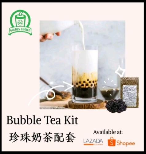 Bubble Boba Pearl Milk Tea D.I.Y at home