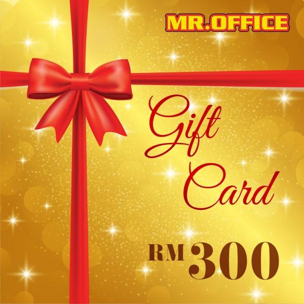 MR.OFFICE : RM300 GIFT CARD GIFT CARDS Malaysia, Selangor, Kuala Lumpur (KL), Shah Alam Supplier, Suppliers, Supply, Supplies | MR.OFFICE Malaysia
