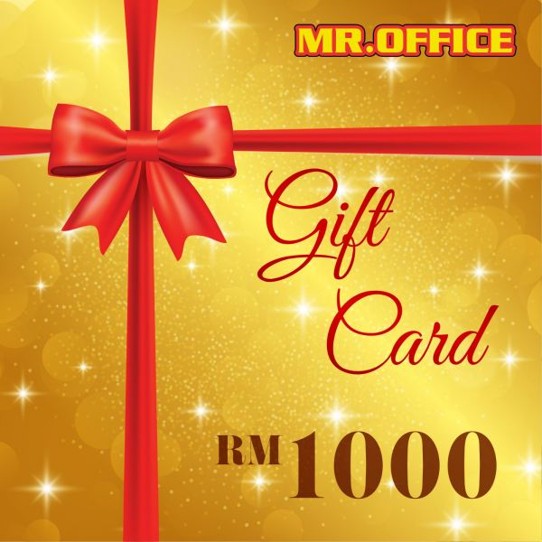 MR.OFFICE : RM1000 GIFT CARD GIFT CARDS Malaysia, Selangor, Kuala Lumpur (KL), Shah Alam Supplier, Suppliers, Supply, Supplies | MR.OFFICE Malaysia