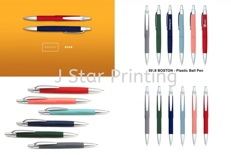 Plastic Pen boston 5048 Plastic Pen Premium Gift Products Puchong, Selangor, Malaysia, Kuala Lumpur (KL) Supplier, Suppliers, Supply, Supplies | J Star Printing