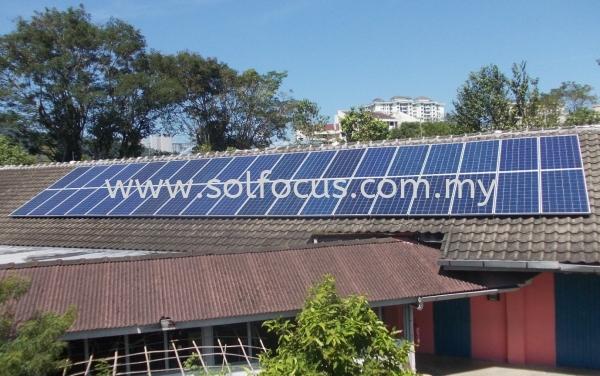 2 x 24kWp, Tile Roof Retrofit (Penang) COMMERCIAL Selangor, Malaysia, Kuala Lumpur (KL), Subang Jaya, Puchong Supplier, Installation, Supply, Supplies | Solfocus Sdn Bhd