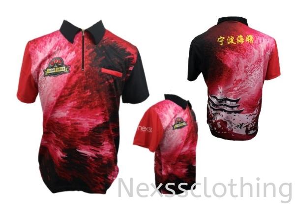 darts jersey Haft Zip / Haft Button Darts Sportswear Kuala Lumpur (KL), Malaysia, Selangor, Kepong Jersey, Supplier, Supply | Nexss Marketing Sdn Bhd