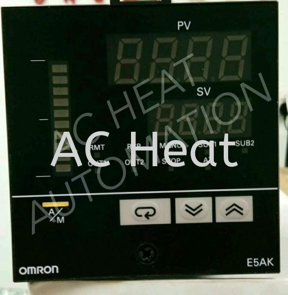 OMRON E5AK Temperature Controller Controls, Control Systems & Regulators Selangor, Malaysia, Kuala Lumpur (KL), Klang Supplier, Suppliers, Supply, Supplies | AC Heat Automation