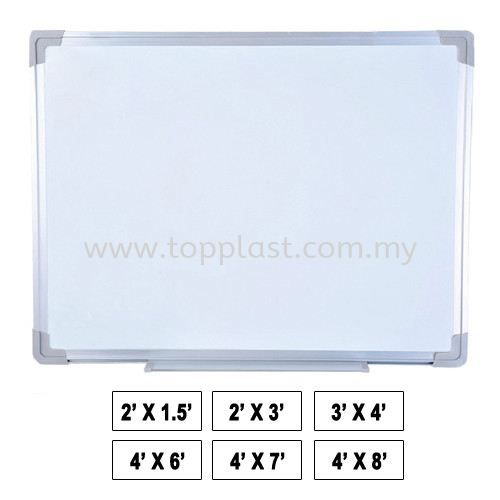 WhiteBoard (Magnet/NonMagnet) Black/Green/White Board Penang, Malaysia Supplier, Suppliers, Supply, Supplies | Top Plast Enterprise