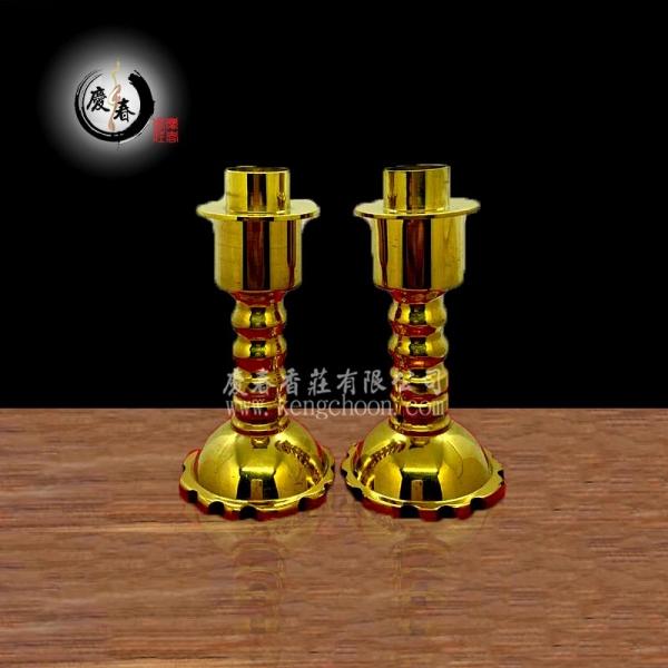 铜双用烛台42301004 铜器 烛台 佛具   供应商,供应   KENG CHOON PRAYING MATERIALS SDN BHD
