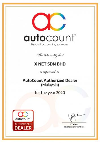 AutoCount Authorized Dealer