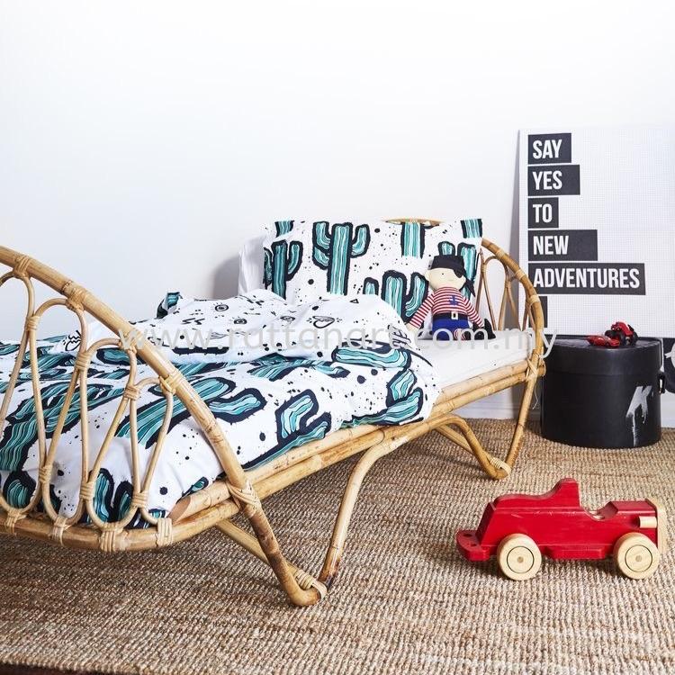 RATTAN SINGLE BED FRAME CAROLINE BED FRAME & BABY CRIB Kuala Lumpur (KL), Malaysia, Selangor, Melaka, Johor, Muar, Bunga Raya Supplier, Supply, Supplies, Customize   Rattan Art