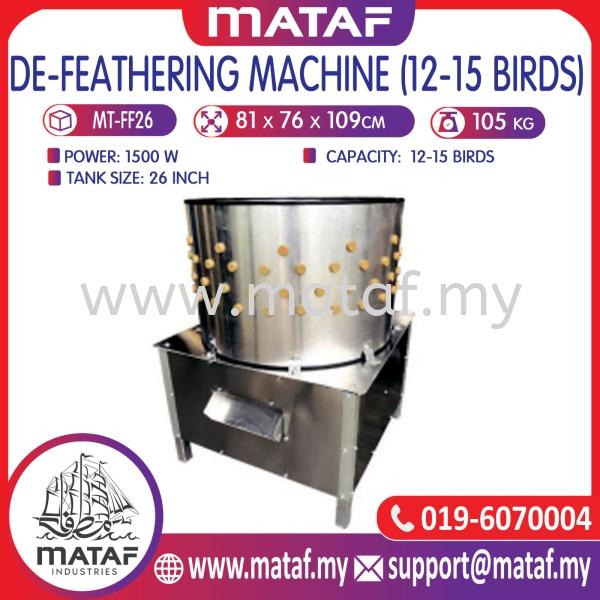 Mesin Cabut Bulu Ayam (12-15 Ekor)   DEFEATHERING MACHINE POULTRY PROCESSING MACHINE Seremban, Malaysia, Negeri Sembilan Supplier, Suppliers, Supply, Supplies   Mataf Industries