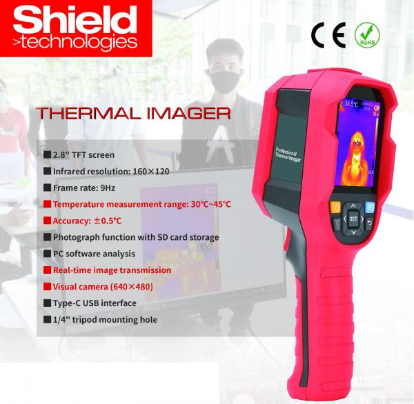 Thermal Imager Smart Security System Johor Bahru (JB), Malaysia, China System, Service | Shield Technologies Product Sdn Bhd