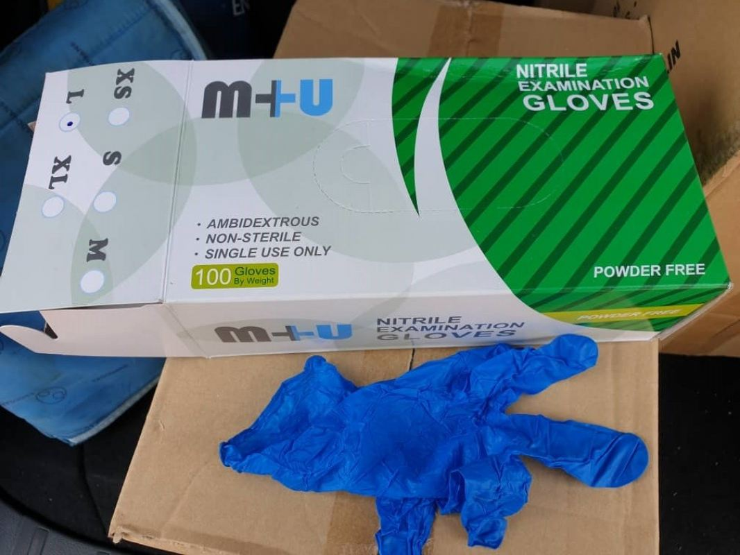 Nitrile Blue Glove