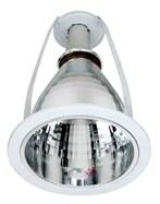 """E27 OR PLC 6"""" VERTICAL DOWNLIGHT FOR LED LAMPS"""