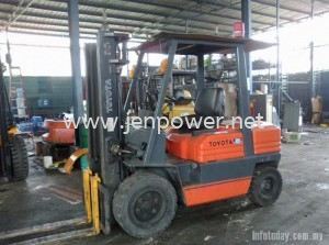 TOYOTA FORKLIFT FOR SALE, RENT, REPAIR