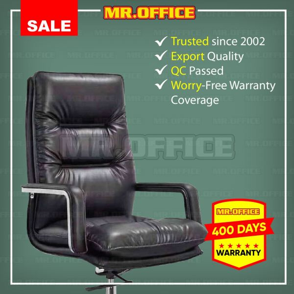 MR.OFFICE : BENSON HIGHBACK LEATHER CHAIR Leather Series OFFICE CHAIRS Malaysia, Selangor, Kuala Lumpur (KL), Shah Alam Supplier, Suppliers, Supply, Supplies | MR.OFFICE Malaysia
