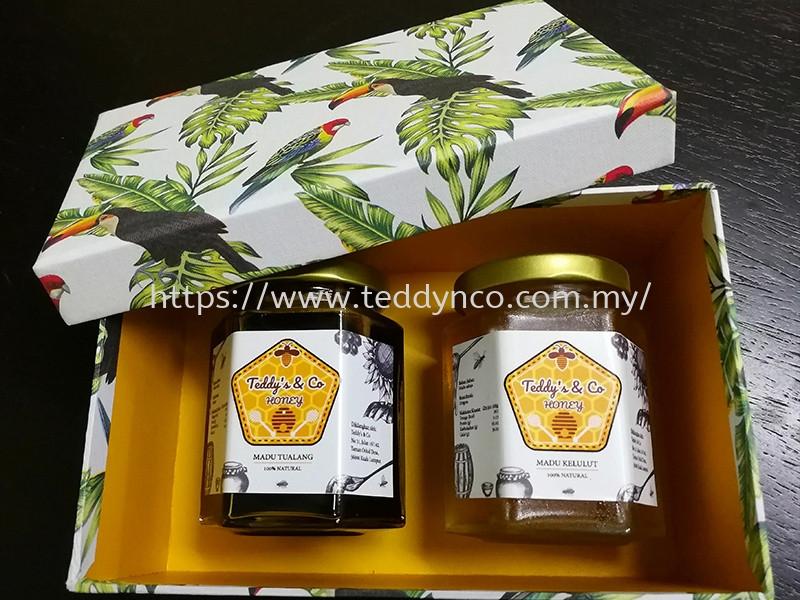 Tualang Honey 220gms & Stingless Bee Honey 220gms