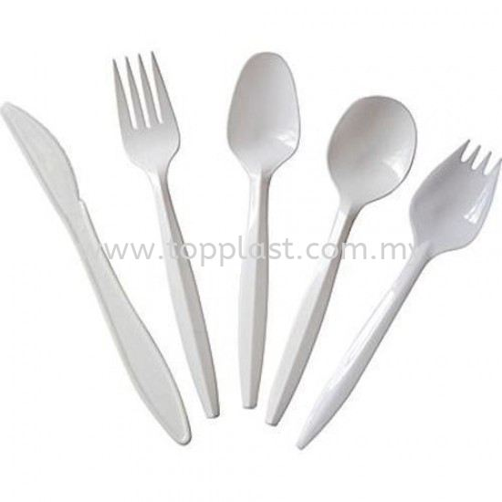 Disposable Fork Spoon Knife (Single) Packaging Products Penang, Malaysia Supplier, Suppliers, Supply, Supplies | Top Plast Enterprise