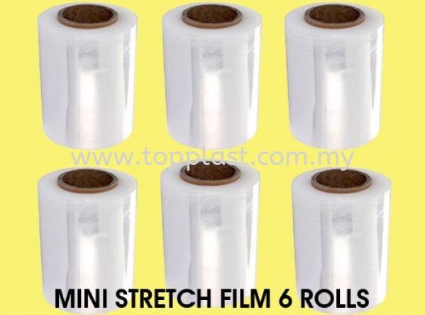 Stretch Film Roll (Box Wrap-Mini) Packaging Products Penang, Malaysia Supplier, Suppliers, Supply, Supplies | Top Plast Enterprise