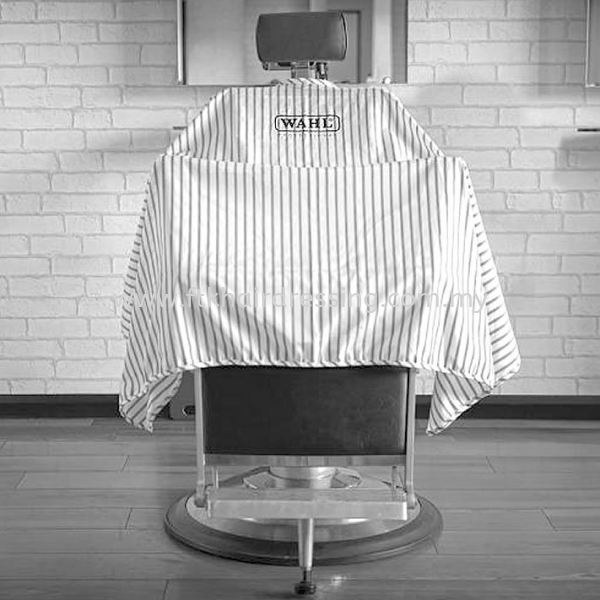 WAHL Professional Cutting Cape (Stripe) Apron Barbershop & Saloon Malaysia, Pahang Supplier, Suppliers, Supply, Supplies   FTK MAJU TRADING (M) SDN BHD
