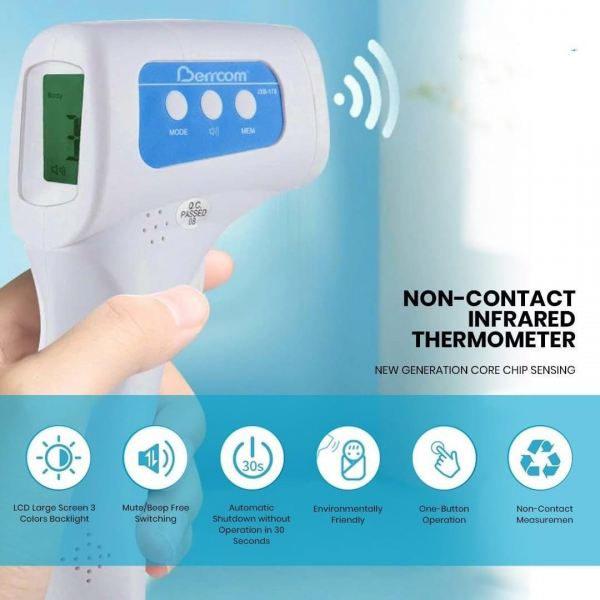 NON-CONTACT INFRARED THERMOMETER THERMOMETER Malaysia, Selangor, Kuala Lumpur (KL), Puchong Supplier, Supply, Supplies, Installation | CCI Solutions & Security Sdn Bhd