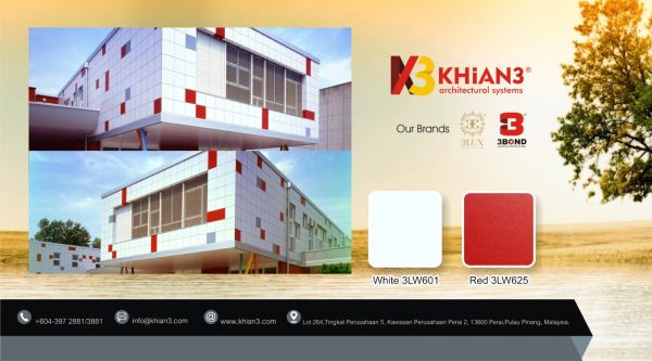 Building Wall Cladding 3LUX  Malaysia, Penang, Perai Manufacturer, Supplier, Supply, Supplies   Khian3 Industries Sdn Bhd