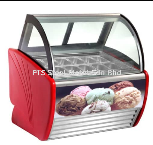 NEW PRODUCT :ICE CREAM FREEZER (RED COLOUR) Commercial Refrigeration Selangor, Malaysia, Kuala Lumpur (KL), Seri Kembangan Supplier, Suppliers, Supply, Supplies | PTS Steel Metal Sdn Bhd