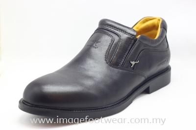 KANGAROO Full Leather Men Shoe- LM-8230- MAROON Colour