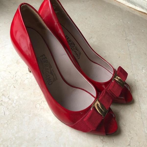 Salvatore Ferragamo Red Heels Salvatore Ferragamo Kuala Lumpur, KL, Selangor, Malaysia. Supplier, Retailer, Supplies, Supply | The Luxury Brand