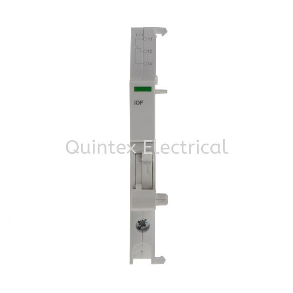 DIN Rail Mount Auxiliary Contact with Screw Terminal, NO/NC, 2 A DC, 6 A AC, 24 130 V DC, 240 415 V AC Schneider Electric Automation & Control Gear Selangor, Malaysia, Kuala Lumpur (KL), Shah Alam Supplier, Suppliers, Supply, Supplies | Quintex Electrical Engineering & Trading
